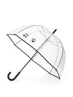 great gift for your friend who can't stop talking about El Nino!! winking eyes umbrella by kate spade new york