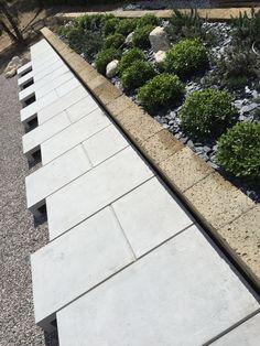 camminamento cemento