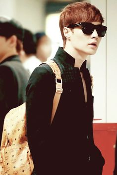 Swagger prince at the airport