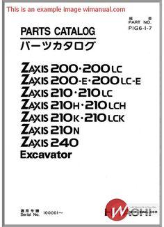 Hitachi ex60 2 excavator parts catalog pdf download this manual has hitachi zaxis zx200 excavator part catalog pdf download this manual has detailed illustrations as well fandeluxe Choice Image