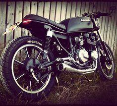 Gert, my Kawasaki GT550 Cafe Racer project #kawasaki #GT550 #caferacer #bratbike #custombike