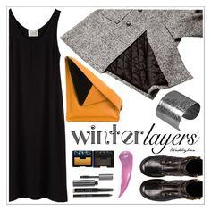 """Winter Layers: Slip Dress"" by trendsbybren ❤ liked on Polyvore featuring La Garçonne Moderne, ssongbyssong, Giuseppe Zanotti, J.W. Anderson, Designhype, NARS Cosmetics, Bobbi Brown Cosmetics, women's clothing, women's fashion and women"