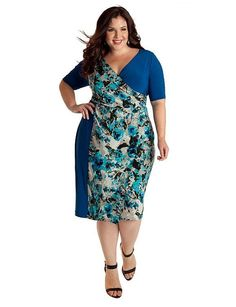 Exciting plus size cocktail dresses for women over 50