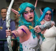 Warcraft Nightelf hunter cosplay