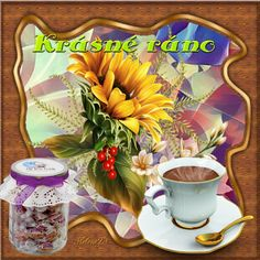 Good Morning Coffee, Blog, Table Decorations, Night, Painting, Home Decor, Art, Art Background, Decoration Home