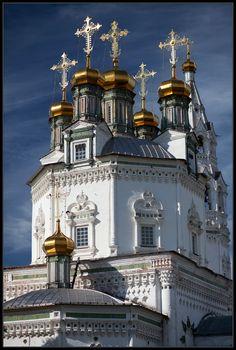 Verkhoturye I von MaNiBaIncredible Russian Church