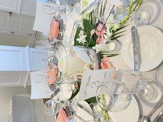 Reception Decorations, Table Decorations, Tablescapes, Elegant, Beautiful, Vintage, Design, Home Decor, Classy