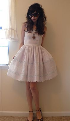 white summer dress!