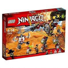 LEGO NINJAGO 70592 - Schatzgräber M.E.C.: Amazon.de: Spielzeug