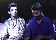 Dhanush, Anirudh at the function