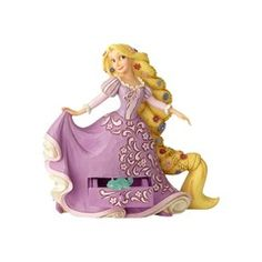 Rapunzel figurine with hidden compartment and Pascal charm (Jim Shore Disney Traditions) from our Jim Shore Disney Traditions collection Disney Love, Walt Disney, Disney Rapunzel, Disney Princess, Classic Disney Characters, Disney Classics, Barbie, Disney Traditions, Disney Figurines