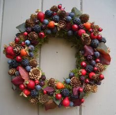 Luxury Winter Berry Wreath - new in christmas Christmas Wreaths, Christmas Crafts, Berry Wreath, Fall Decor, Holiday Decor, Pine Cone Crafts, Autumn Wreaths, Wreath Tutorial, Xmas Decorations