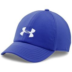 Under Armour Renegade Ball Cap (1.250 RUB) ❤ liked on Polyvore featuring accessories, hats, blue, band hats, baseball cap hats, adjustable baseball caps, blue baseball cap and adjustable caps