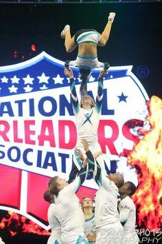 Cheer extreme coed #myteam #bigfan