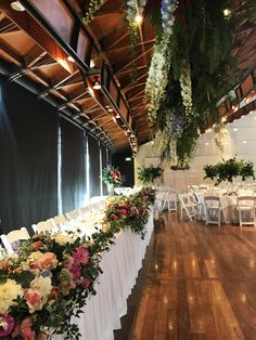 Hanging Bridal Flowers #bloomingbridal #natwinecentre