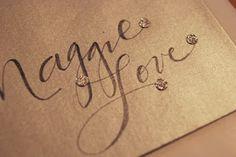 Fake Calligraphy Tutorial | leachlove