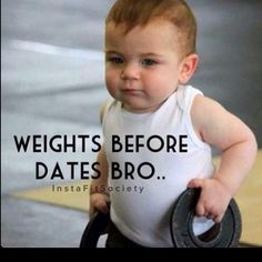 See, even baby know's what's up...LOL #Dailyhumor #funnyjokes #funnypictures #hilarious #laugh #workouthumor #fitnesshumor #fit #fitness #muscles #exercise #eattogrow #iifym #lift #funny #comedy #follow #followme #addme #ctfu #lmao #humor #laugh #laughter #Lol #gymmeme