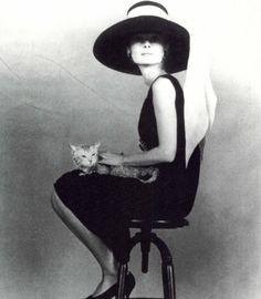 Audrey Hepburn en un