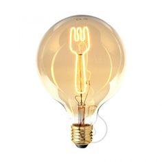 Zlaté LED tvoria LED žiarovky so zlatistým efektom skla. Fork, Light Bulb, Led, Retro, Lighting, Home Decor, Decoration Home, Light Fixtures, Room Decor