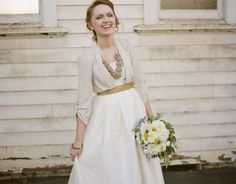 The adorable & tailored bride: How to rock blazers on your wedding day - Wedding Party Sweet Wedding Dresses, Modest Wedding Gowns, Wedding Pics, On Your Wedding Day, Wedding Season, Wedding Styles, Wedding Ideas, Fall Wedding, Traditional Wedding Dresses