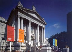 Tate Britain – external wayfinding – banners