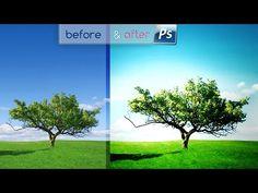 Bikin Warna Dramatic Fantasy [Sunny Light] Gambar Pemandangan    tutorial ini akan di coba di praktekkan cara membuat efek warna dramatis fantasi biru cerah dan ceria atau sunny light. Manipulasi warna biru dan cyan serta di tambah cahaya terang di samping pohon, pada photoshop cs6 atau cc    #editfoto #fotoedit #belajarPhotoshop #Photoshop #photoshopIndonesia #tutorialPhotoshop