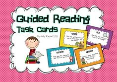 Guided Reading Task Cards Set
