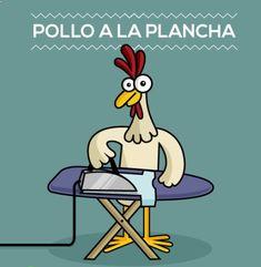 Pollo a la plancha #fotosgraciosas