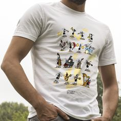 "T-shirt ""Musica"".  #ant #formica #maglietta #musica #musicisti #strumenti #music"