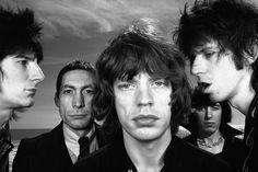 """Indelible Images From a #Photography Icon #VisualThinking #Iconography The five-decade career of the fashion photographer Hiro is the subject of three separate retrospectives this season, in New York, London and Boston. Here's his """"The Rolling Stones, Sanibel Island, Florida, 1976."""""""