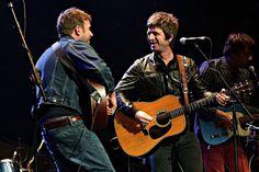 Damon Albarn & Noel Gallagher juntos en el Royal Albert Hall