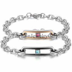 Hollow Love Stainless Steel Men Women Lover Couple Bracelet Christmas Gift #Unbranded #Bangle