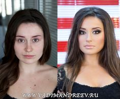 Using only cosmetics, and zero post processing software, Russian hair and make-up artist Vadim Andreev transforms ordinary looking ladies into stunning beauties. Can he move in with me?