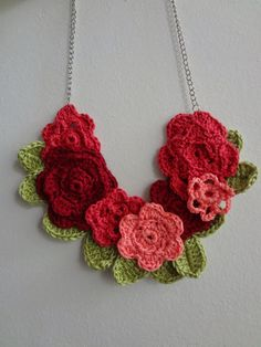 Little Treasures: May Flowers Necklace - pdf pattern