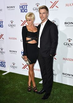 Derek Hough - Celebs at the Maxim Hot 100 Party