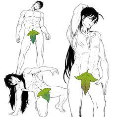 Muu, Masrur and Sinbad and their leaf piece lol