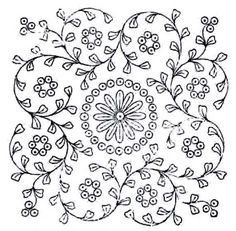 Ethnic Embroidery Patterns - Ethnic Designs and Pattern for Embroidery