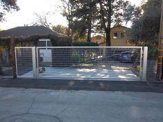 Steel Drive Gate