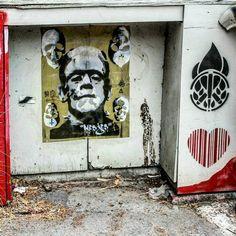 Street Art  Stencils / Multiple layers /  Wheat Paste Art / Street Art  / stencil / #stencil #stickers #streetart #stickerart  #Nesjes  #artistry  #stencilism  #streetphotography #creativespace #inspiringart  #diy #wheatpaste #wheatpasteart