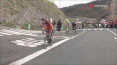 TOUR DU PAYS BASQUE - Grâce à une attaque juste avant le dernier kilomètre, Samuel Sanchez s'impose dans la 4e étape du Tour du Pays Basque. L'Espagnol s'est imposé devant Rui Costa et les Français Warren Barguil et Alexis Vuillermoz. Au classement général,...