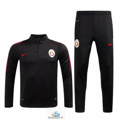 Official Le Nouveau Survetement de foot Galatasaray Noir 2016 2017
