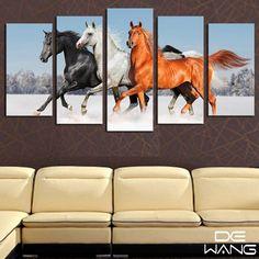 Us Seller-Running Wild Horse Tapeçaria Pendurar Parede Arte Decoração Parede Quarto