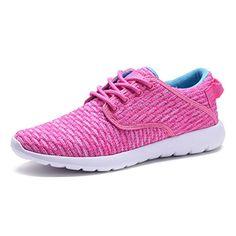 newest 82902 2015b COODO CD8005 Lightweight Fashion Sneakers Sport Shoes For Women  amp  Big  Girls FUCHSIA-7