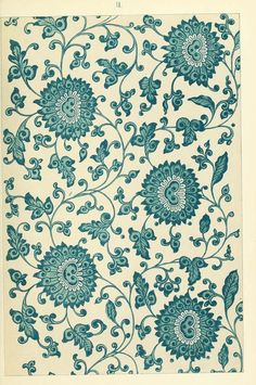 Examples of Chinese ornament, selected from objects in the South Kensington Museum and other collections : [estampe] / by Owen Jones Antique Wallpaper, Chinoiserie Wallpaper, Chinese Ornament, Chinese Patterns, Picture Boxes, Morris, Blue And White China, Ornaments Design, Chinese Art