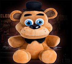 "Hot FNAF Five Nights at Freddy's 10"" Plush Doll Gift Fazbear Sanshee Toy #Unbranded"
