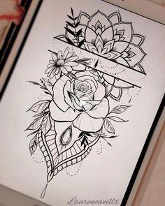 - tattoo -Tatoos - tattoo - 55 einfache kleine Blumen Tattoos Zeichnung Tattoos Ideen für Frauen in dieser Saison Thes … tattoo drawing - Drawing Tips Фотографии Art by Asika Forearm Tattoos, Body Art Tattoos, Hand Tattoos, Sleeve Tattoos, Cool Tattoos, Tatoos, Tattoo Sleeves, Gorgeous Tattoos, Quote Tattoos