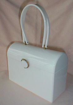 1950s Lucite Hand Bag