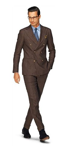 Soho Suit in Brown Check