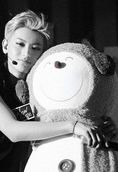 Tao ♥...just huggin it out with fluffykins here.