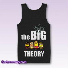 Big Bang Minions Tank Top M L XL XXL